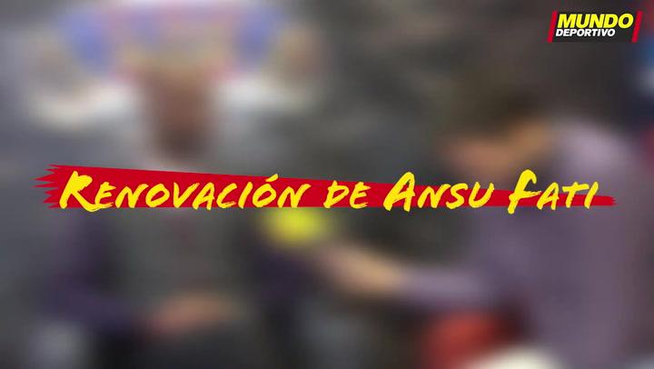 Entrevista Éric Abidal: La renovación de Ansu Fati