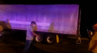 Dos heridos deja accidente de tránsito en la carretera CA-5