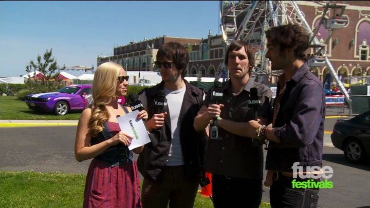 Festivals:Bamboozle  All American Rejects On Song Writing and Beards: Bamboozle 2012