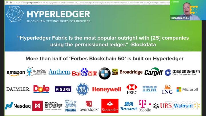 Foundations: Hyperledger