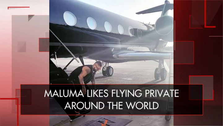 Insta Finds: Take a peek inside Maluma's private jet