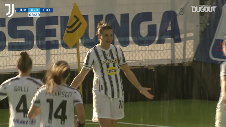 Cristiana Girelli's record-breaking six goals in six games