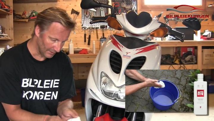 Hvordan klargjøre scooter for salg