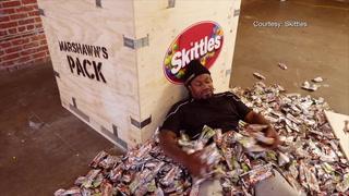 Vegas Nation: Lynch Gets His Own Skittles Bag