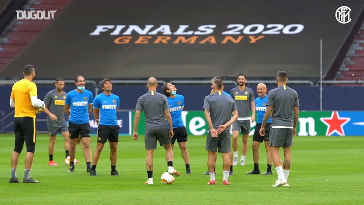 Inter stars train ahead of Getafe showdown