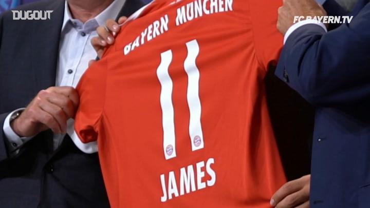 James Rodríguez Leaves FC Bayern