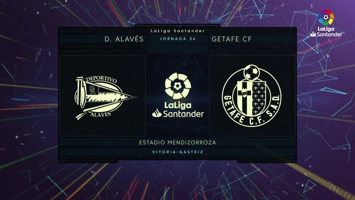 LaLiga (J36): Resumen del Alavés 0-0 Getafe