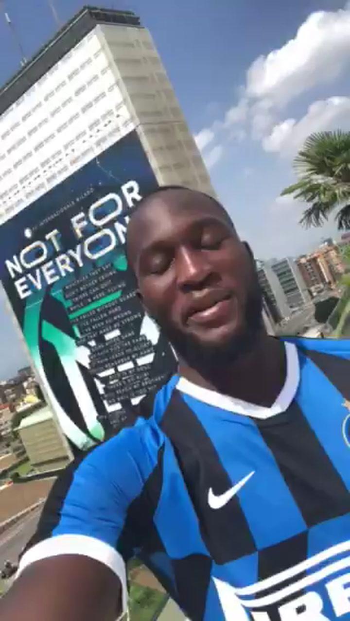 Romelu Lukaku, nuevo jugador del Inter de Milán