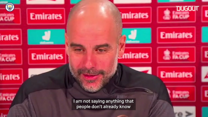 Pep discusses De Bruyne injury and Bernardo Silva's return to form