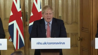 Boris Johnson ingresado en cuidados intensivos por coronavirus