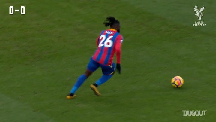 Sako's fine goal gives Palace win over Burnley