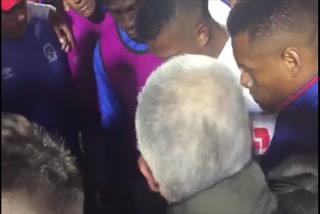 El emotivo mensaje de Keosseián a jugadores de Olimpia minutos después de perder la final