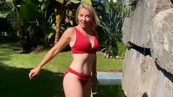 A Place in the sun's Laura Hamilton stuns fans with swimwear video