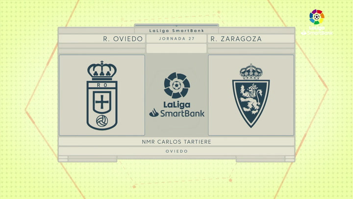 LaLiga SmartBank (J27): Resumen y goles del Oviedo 1-0 Zaragoza