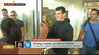 'Chucky' Lozano se convetirá en el fichaje más caro del Napoli