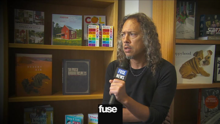 Interviews: Metallica's Kirk Hammett Talks Surprise Voodoo Music Fest Gig