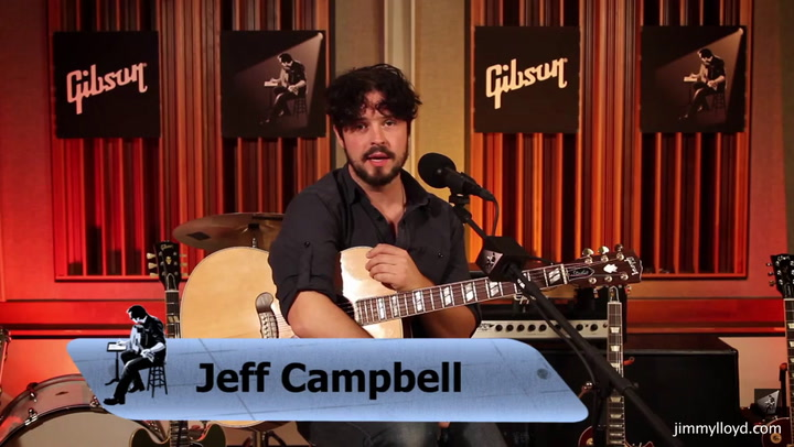 Jeff Campbell performs Fill The Spaces on The Jimmy Lloyd Songwriter Showcase