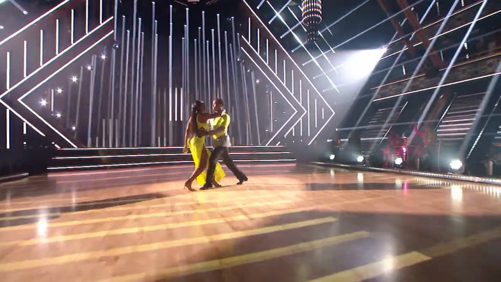 Dancing with the Stars: Kenya Moore dances the tango