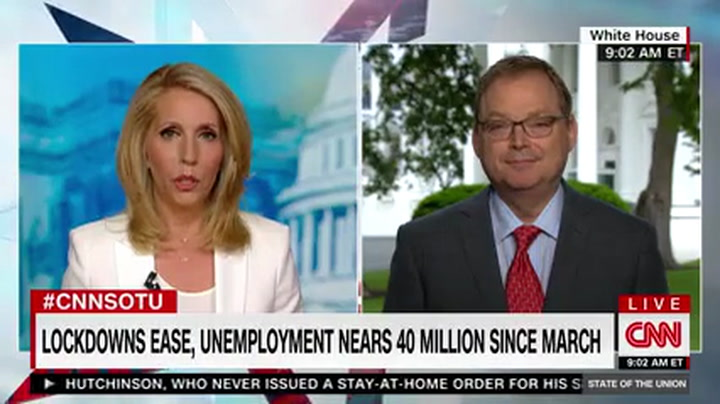 Hassett: We Could See an Unemployment Rate 'North of 20%'