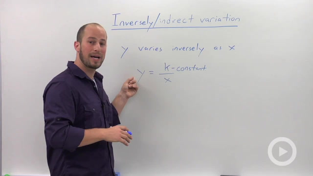 Indirect Variation
