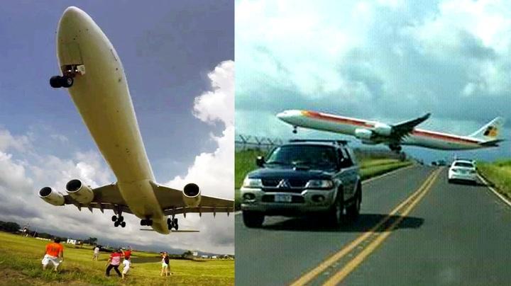 – Jeg har aldri sett noen fly så lavt før!