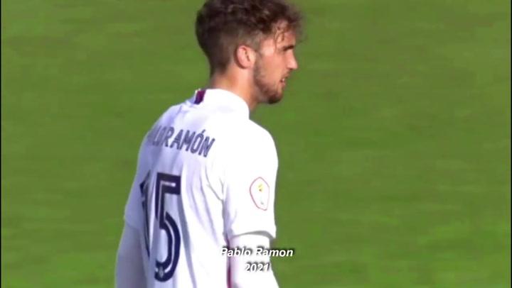 Así juega Pablo Ramón, el canterano que se estrena en una lista de Zidane