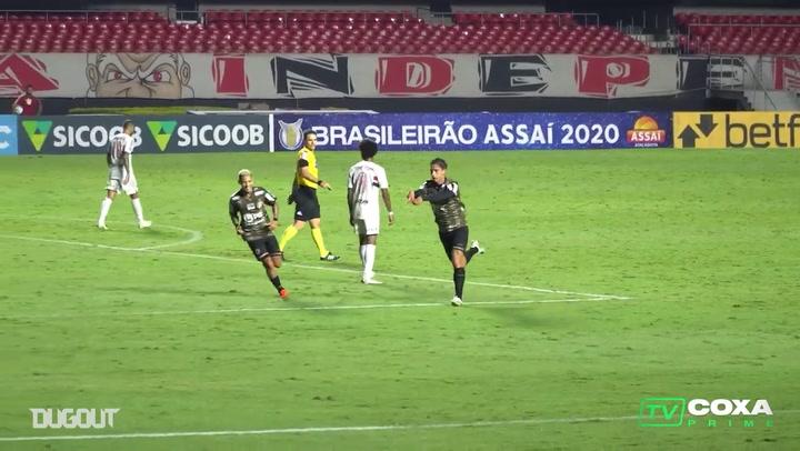 Coritiba draw against São Paulo at Morumbi