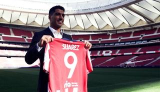 Así fue el primer día de Suárez como nuevo jugador del Atlético de Madrid