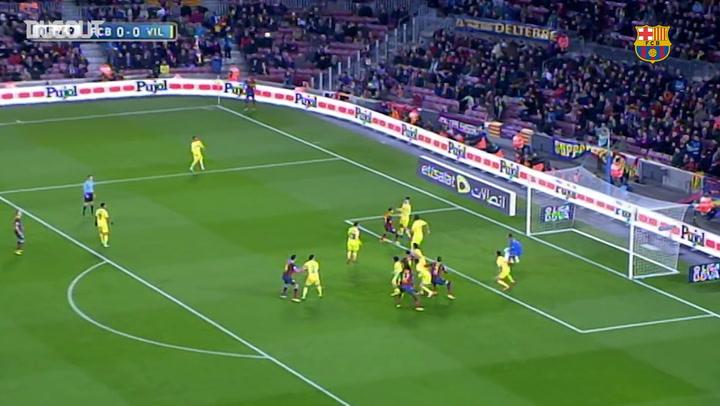 Throwback: Neymar's Brace Helps See Off Villarreal