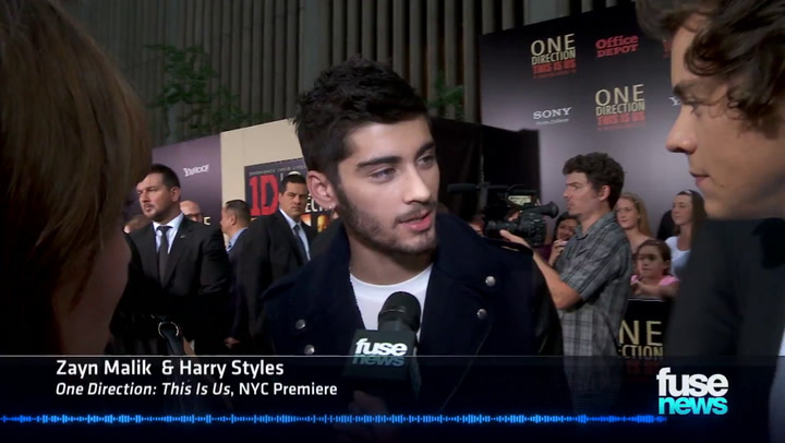 Interviews: Fuse News also spoke to the British boy band about their 3D film, which part gets Niall choked up and Harry's favorite rapper