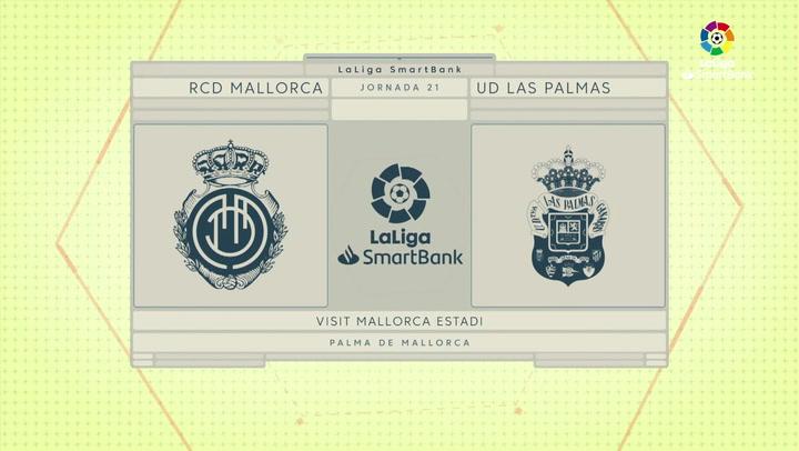 LaLiga SmartBank (J21): Resumen y gol del Mallorca 0-1 Las Palmas
