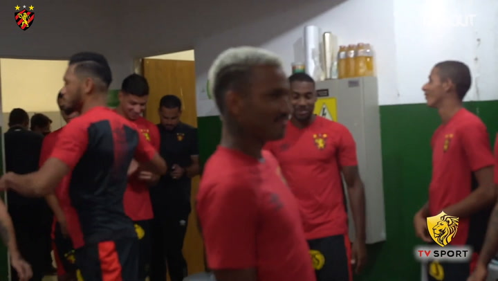 Behind the scenes of Sport Recife's away victory over Bahia