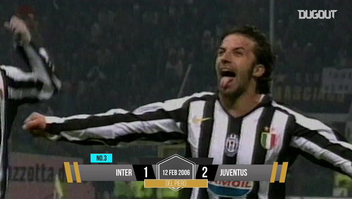 Top 5 Goals: Inter V Juventus