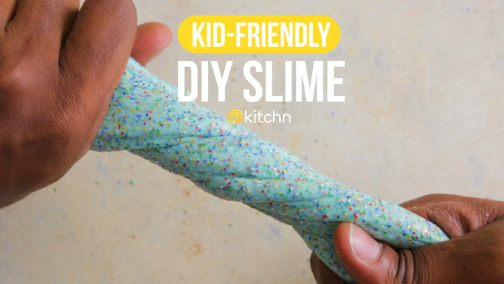 How to make 3 ingredient slime without borax kitchn ccuart Gallery