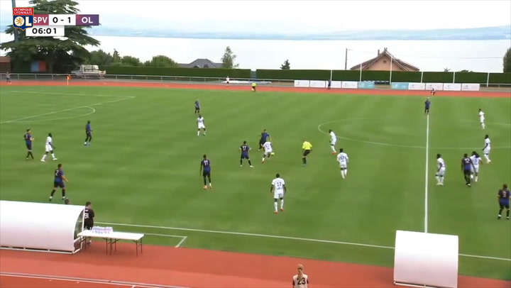 Olympique Lyonnais' incredible 12-0 victory in their first friendly match