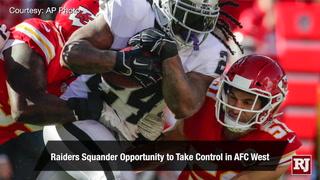 Vegas Nation: Raiders fall flat against Chiefs