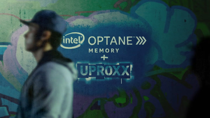 Intel and Uproxx Created a Shadow Monster Projection