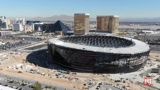 Bird's eye view of Raiders facilities – Video