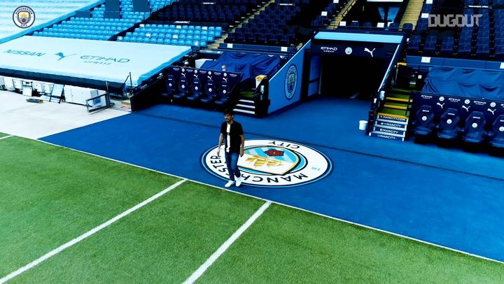 Manchester City bid farewell to David Silva