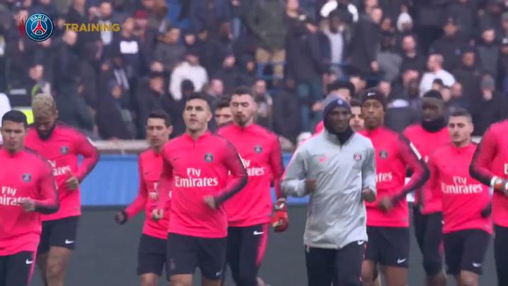 El PSG deja entrar a los ultras al entrenamiento