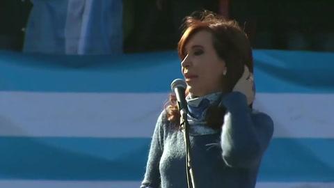 Cristina Kirchner será candidata a vicepresidente en Argentina