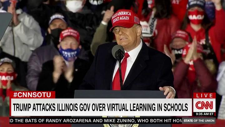 IL Gov Pritzker: Coronavirus Surging Because Trump, GOP Won't Wear Masks