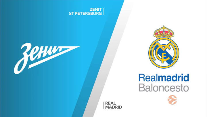 Euroliga: Zenit St Petersburg - Real Madrid