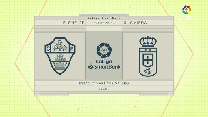 LaLiga Smartbank (Jornada 42): Elche 2-1 Oviedo