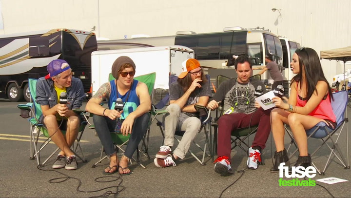 Festivals: Warped Tour: 2013:  Forever The Sickest Kids Interview