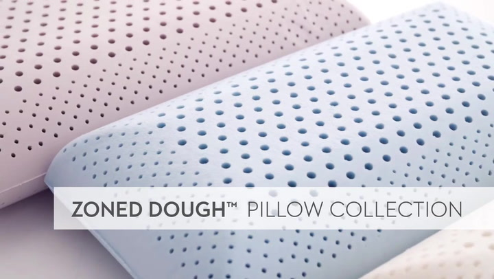 Preview image of Malouf Z Shoulder Cutout Zoned Dough Memory Foam P video