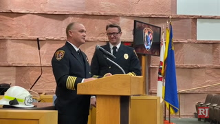 Clark County Fire Department change of command ceremony – VIDEO