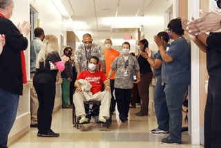 Nevada's first coronavirus patient released from hospital after coma – VIDEO