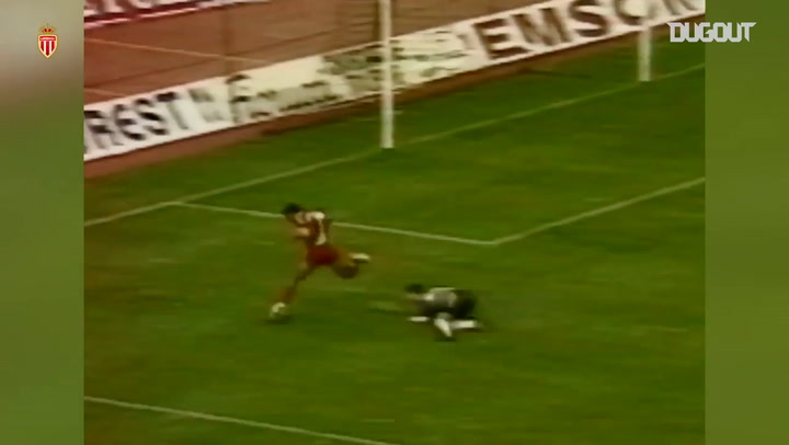 Thierry Henry's first goal at Monaco