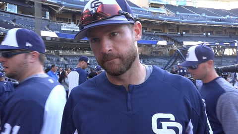 Chase Headley on early struggles and his Padres future